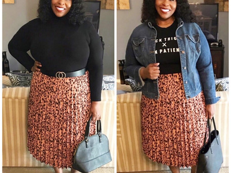 Affordable Pleated Skirts from Amazon