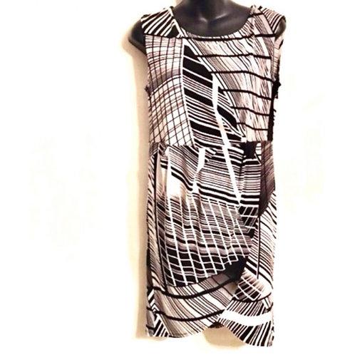 Liz  Claiborne Faux Wrap Dress.