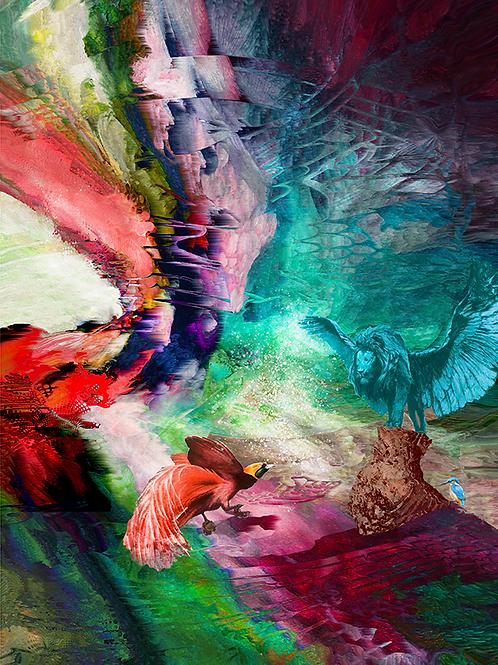 Y.C.Cagatay, Halcyon Days, 2020,107 x 73 cm