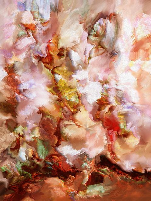Y.C.Cagatay, Meditation, 2019, 86x67 cm