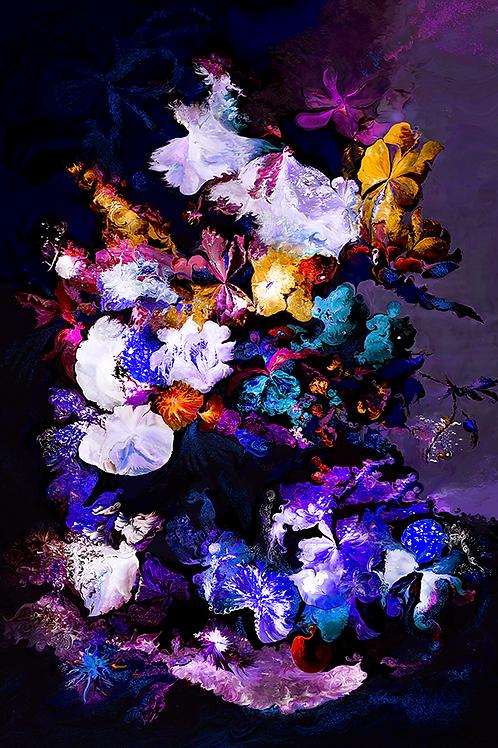 Y.C.Cagatay, In a Heartbeat, 2020, 120 × 86 cm