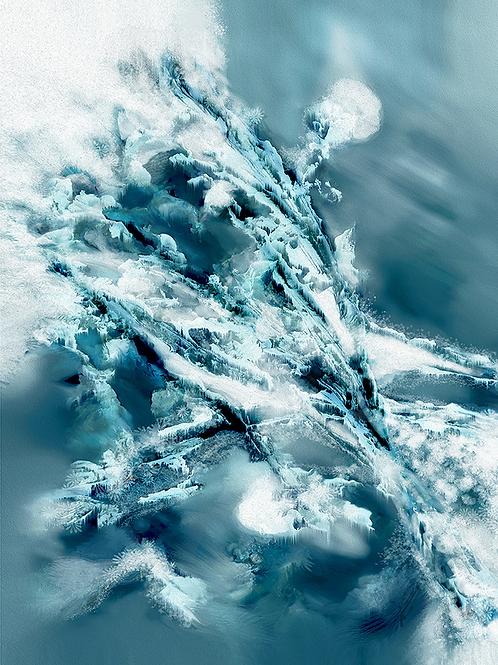 Y.C.Cagatay, Frozen, 2019, 86x67 cm