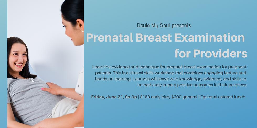 Prenatal Breast Examination for Providers