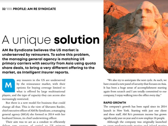 Profile: AM RE Syndicate, a unique solution