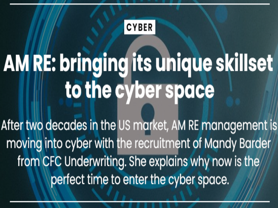AM RE: bringing its unique skillset to the cyber space