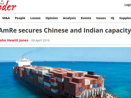 AM RE secures Chinese and Indian capacity
