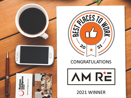 AM RE Named a Best Places to Work 2021 Winner