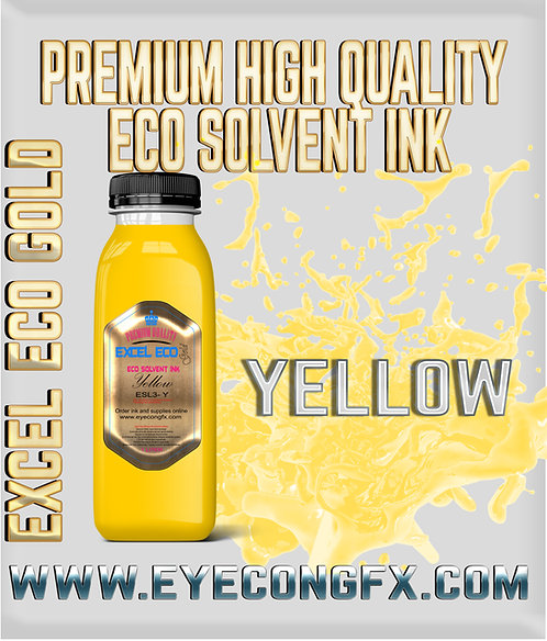 Eco solvent ink (CMYK LC LM ) 1 Liter