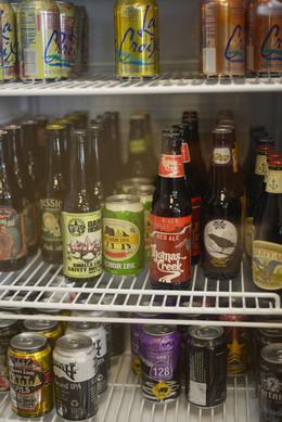 Beer Fridge in Office