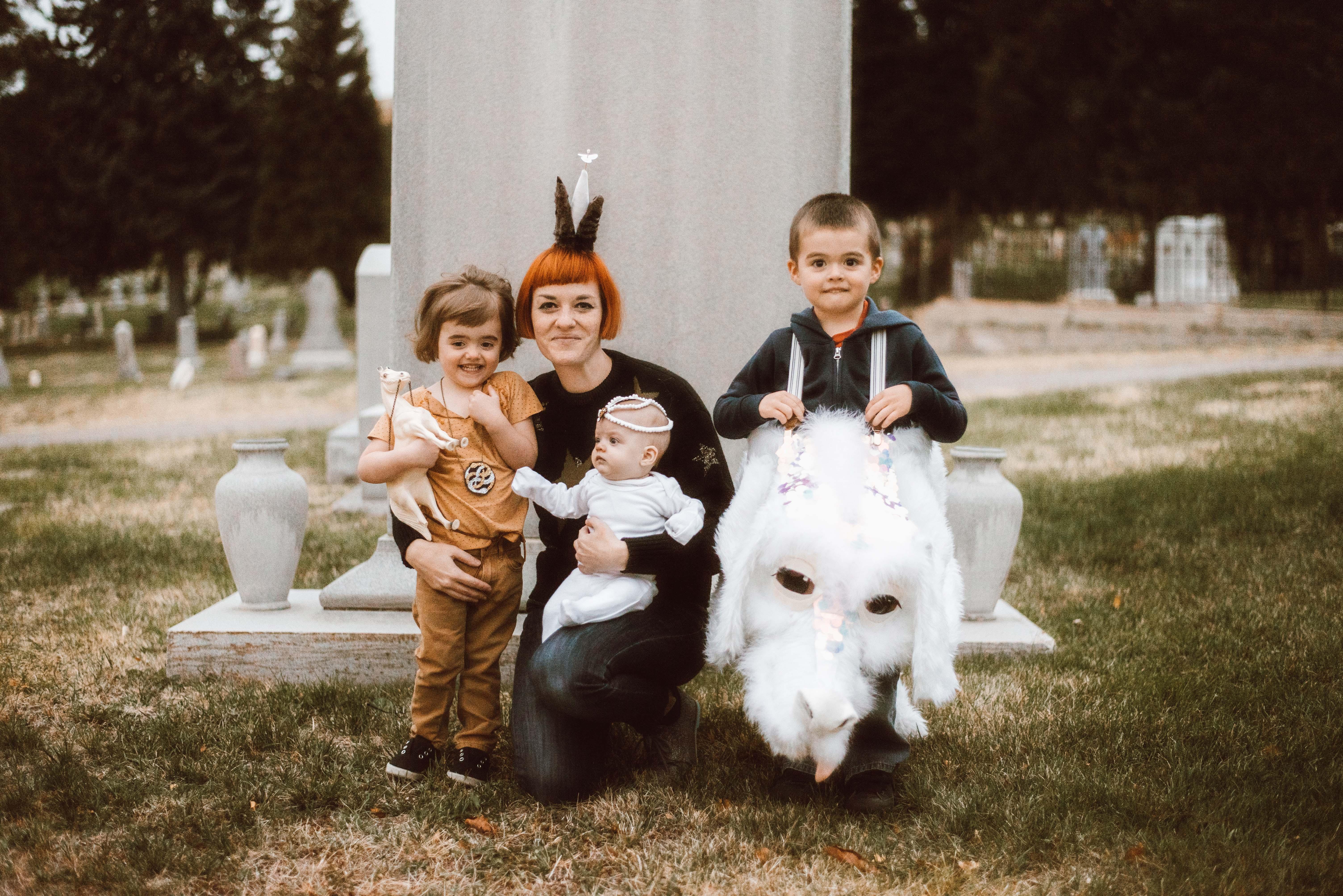 Halloween Porch Portraits
