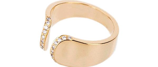 Diamond Arc Ring