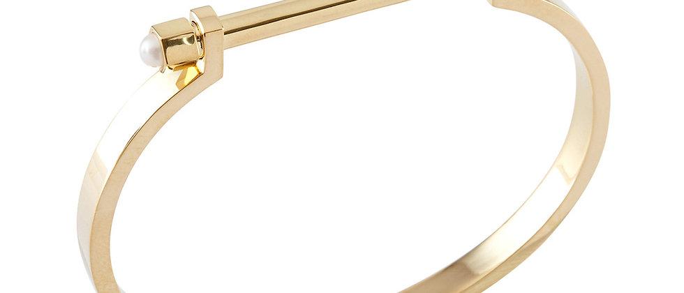 20K Gold Bolt Bracelet