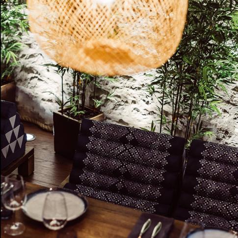 NOK NOK restaurant / ASCHIN upholstery