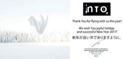 INTO flying season*s greetings!