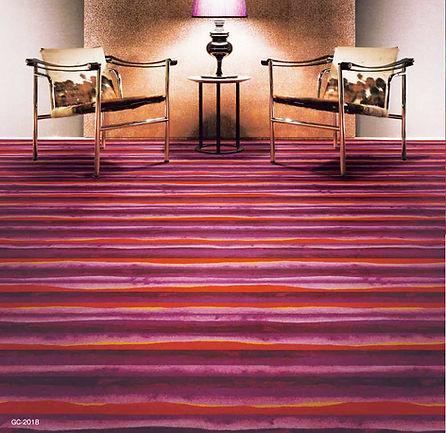 customized carpet design for Sangetsu