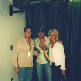 With Tim McGraw
