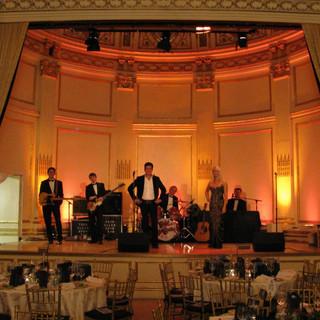 We played the Plaza Hotelin New York City!