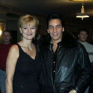 With Debbie Campbell, Glen Campbell's Daughter
