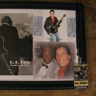 Opened for BB King