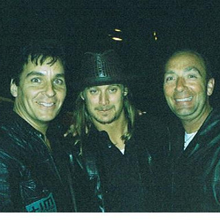 With Kid Rock and Billy Mason