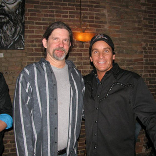 With Roy Orbison's son Wesley Orbison