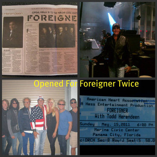 Opened twice for Foreigner