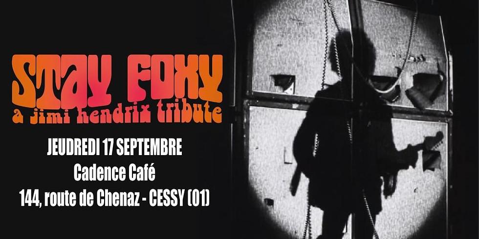 Stay Foxy en concert !