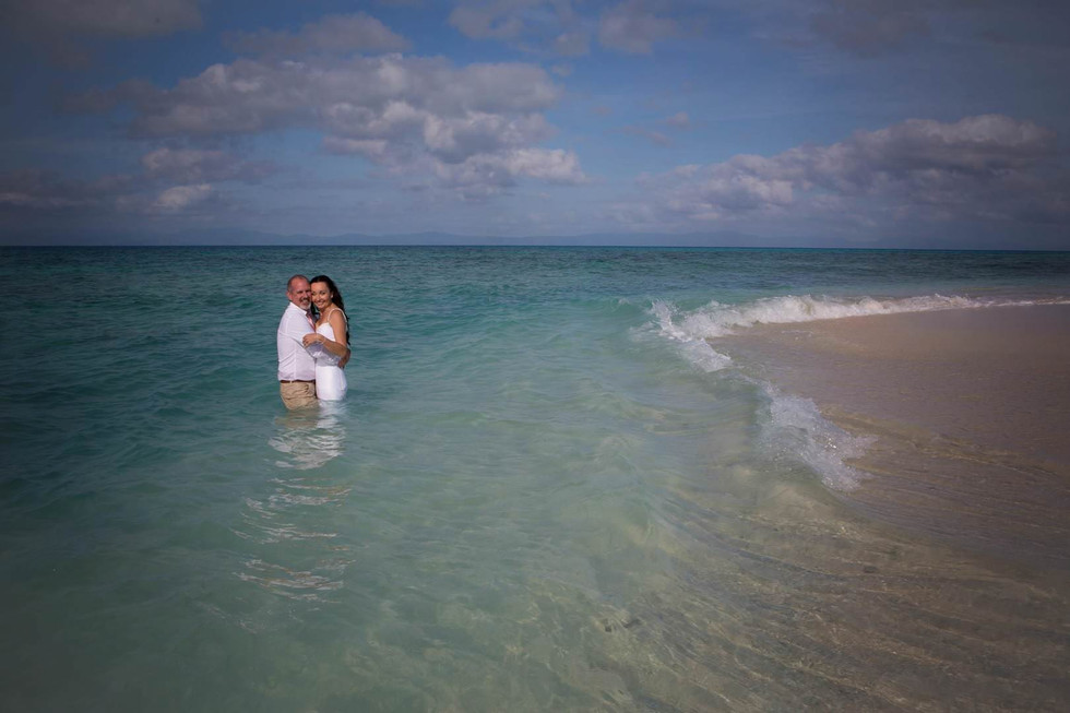 Imagine eloping to your own private island