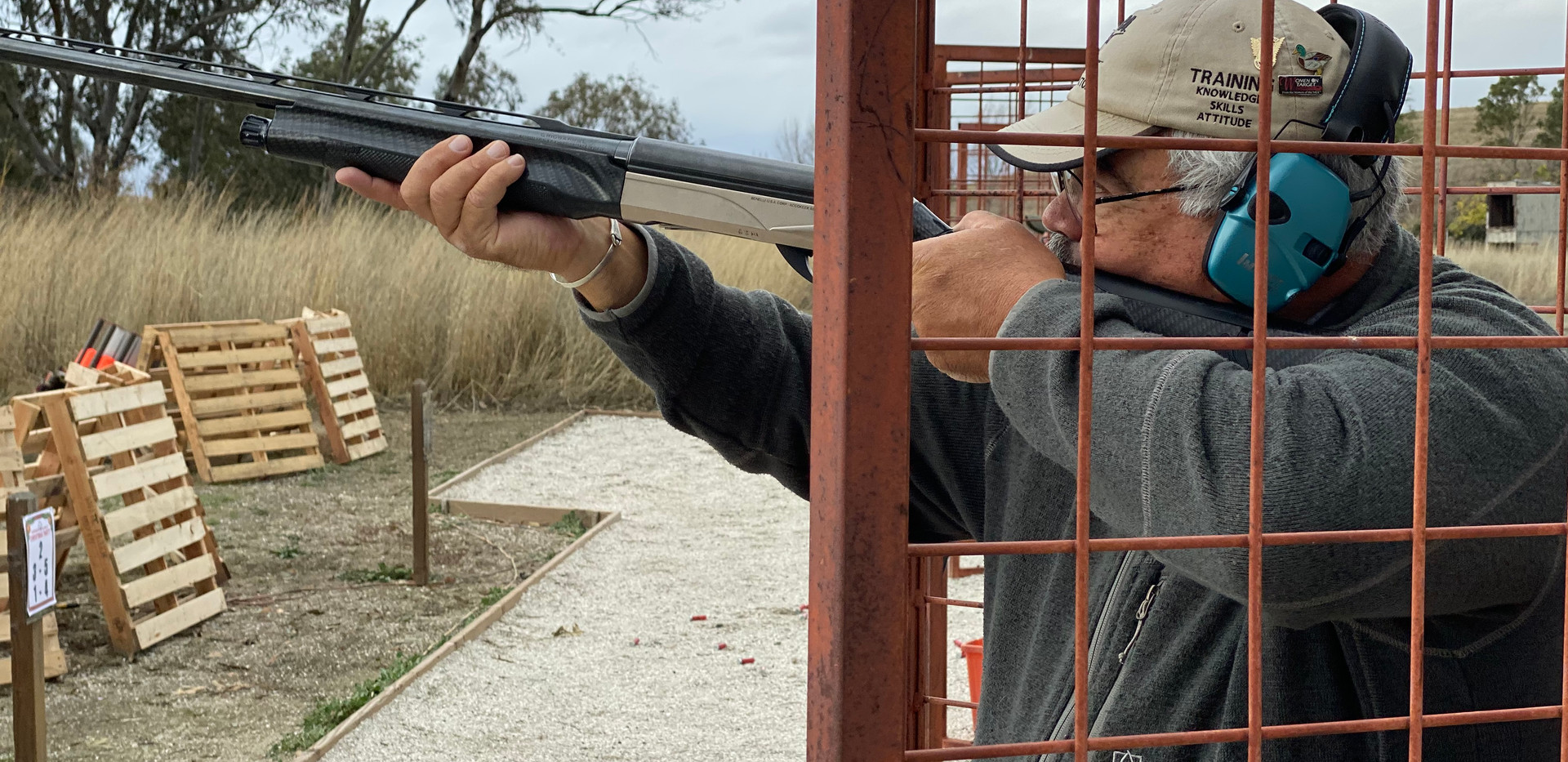 Shotgun games at Instructor Christmas Party 2019