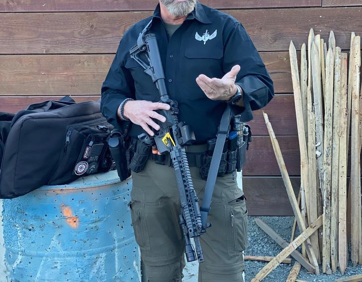 Gordon Gray at Low Light Gunfighting
