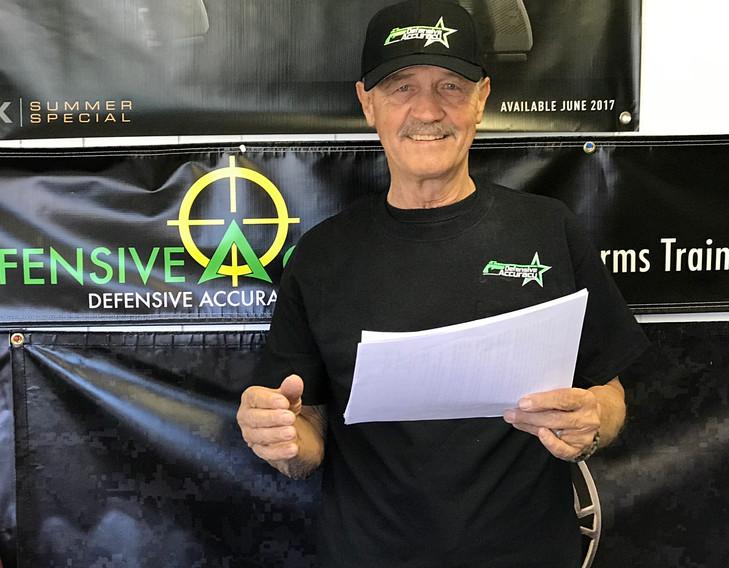 Larry DeKam of Defensive Accuracy, LLC