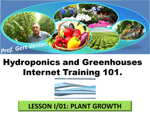 Good news! Ready to launch! You can now register for the  Hydroponics and Greenhouses Master course!
