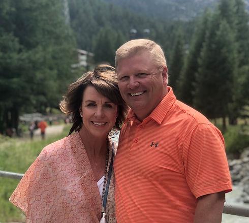 Cheryl and Greg in Switzerland