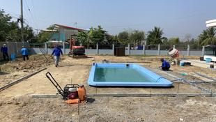 Similian Fibierglass Swimmingpool