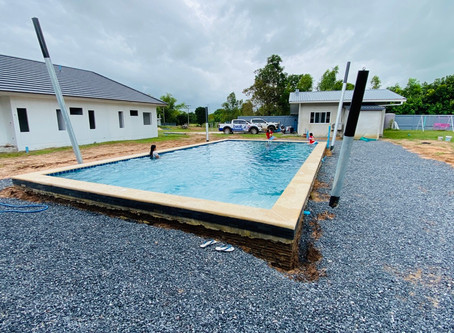 Just finished this 12 x 6 meter Swimmingpool.