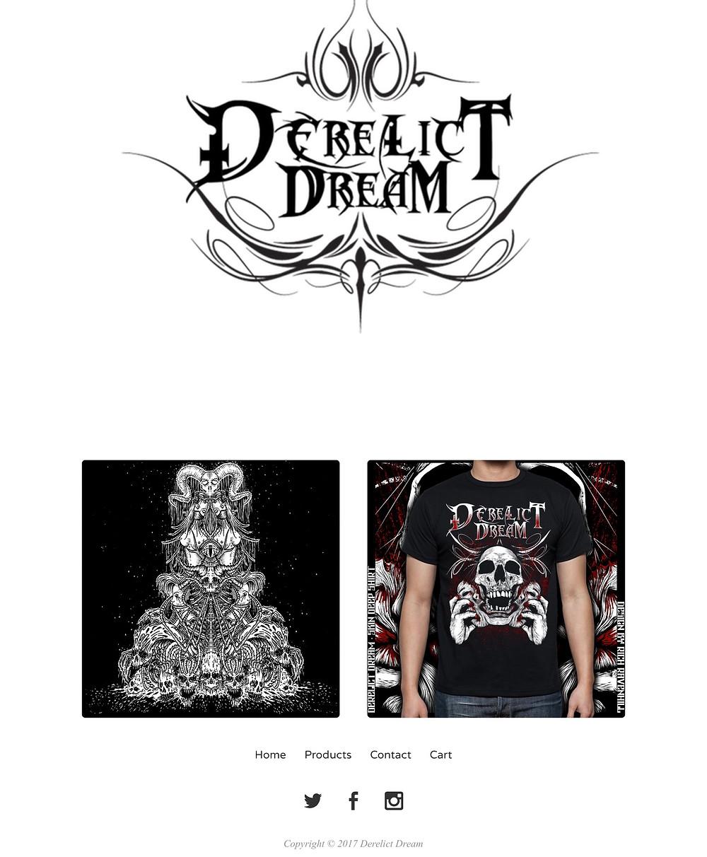 Metal band merchandise merch.
