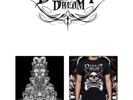 Derelict Dream Merch, Now Available For Online Order