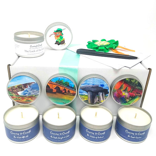 St. Patrick's Day Candle Gift Set