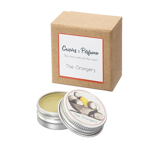 The Orangery - Natural Solid Perfume Balm