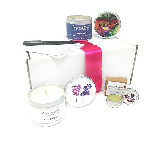 """I love you Ma"" Candle & Perfume Gift Set"