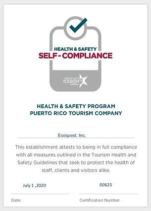 Auto Certificate - Health  Safety Progra