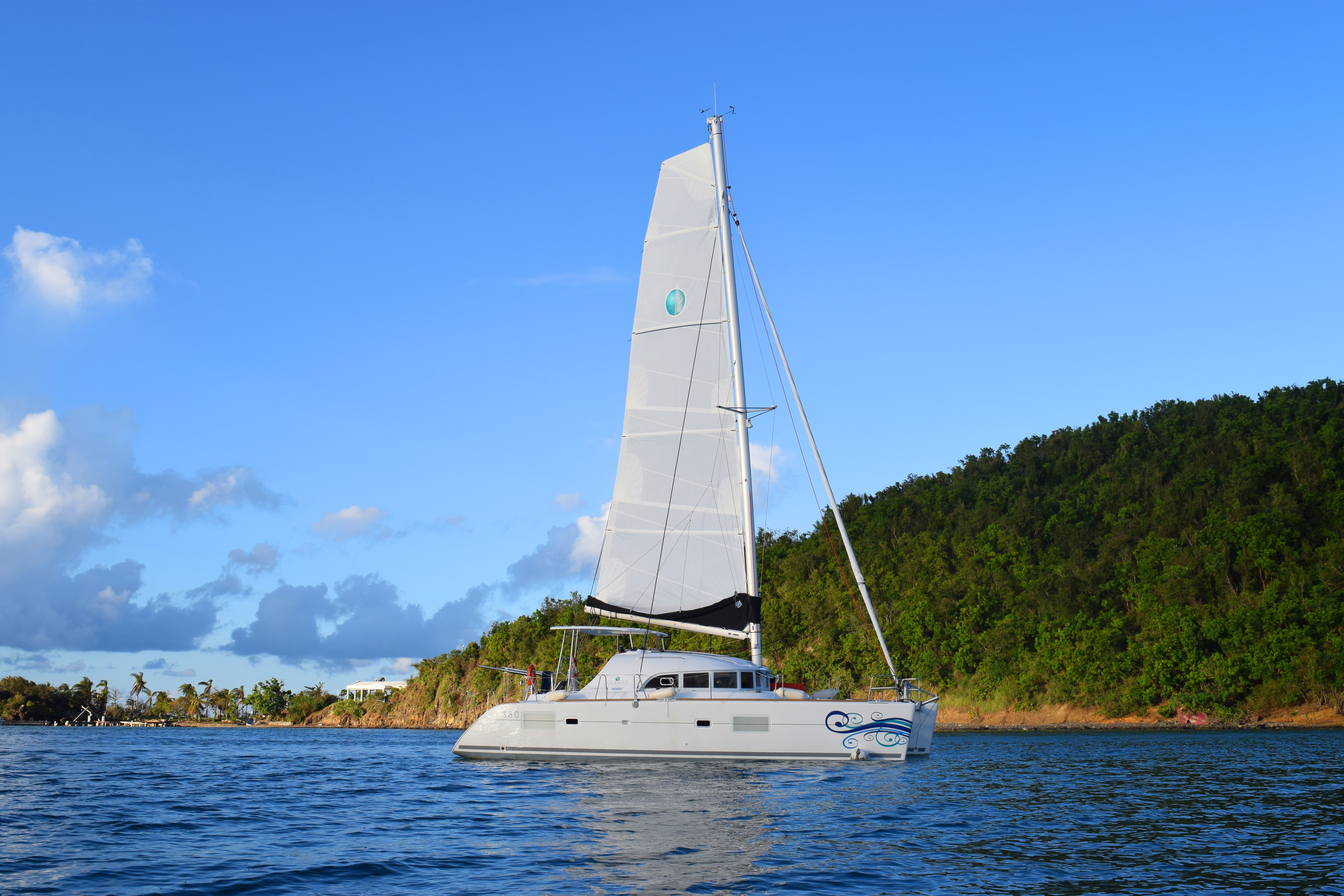Great sailing in the SVIs