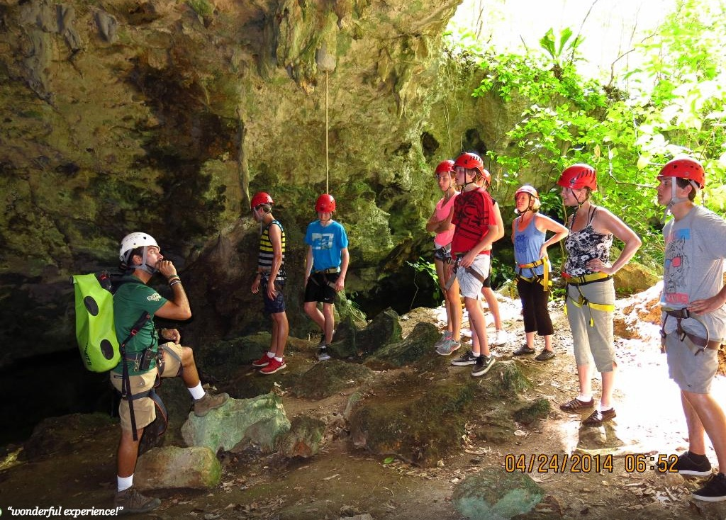 Learn about the impressive caves!