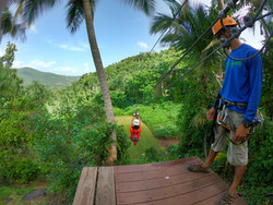 Ziplining with spectacular views!