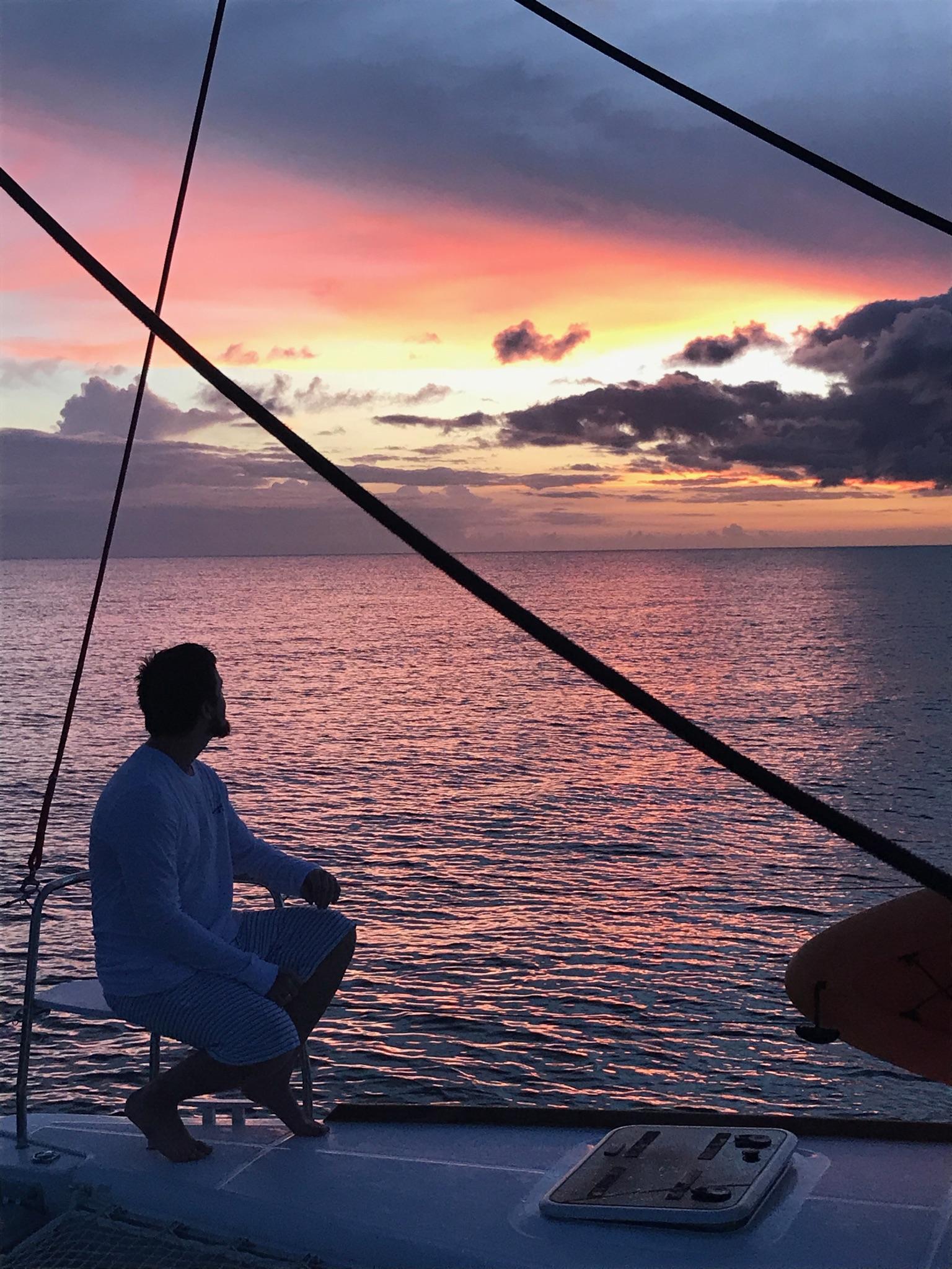 Enjoy breathless sunsets...