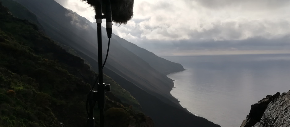 Iddu - Field Recording at Stromboli