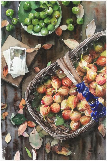 Green Plums & Figs