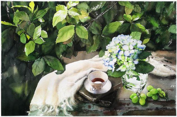 White Hydrangea & Youth