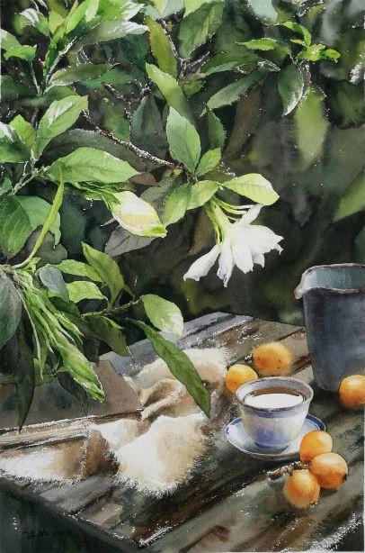 Gardenia & Loquat