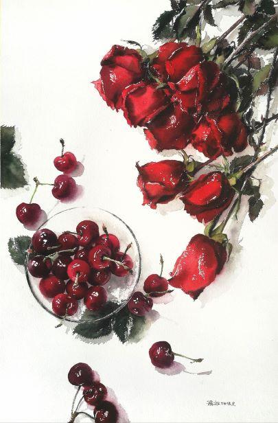 Rose & Cherry